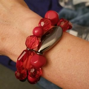 Rockin Rock Candy Red Bracelet